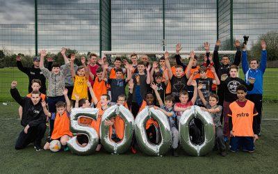 Sports project reaches major milestone