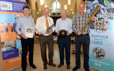 Pioneering Sporting Memories project launched in Suffolk