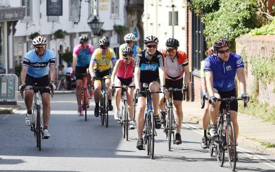 Taste of Tour of Britain comes to Suffolk as dignitaries cycle along the route