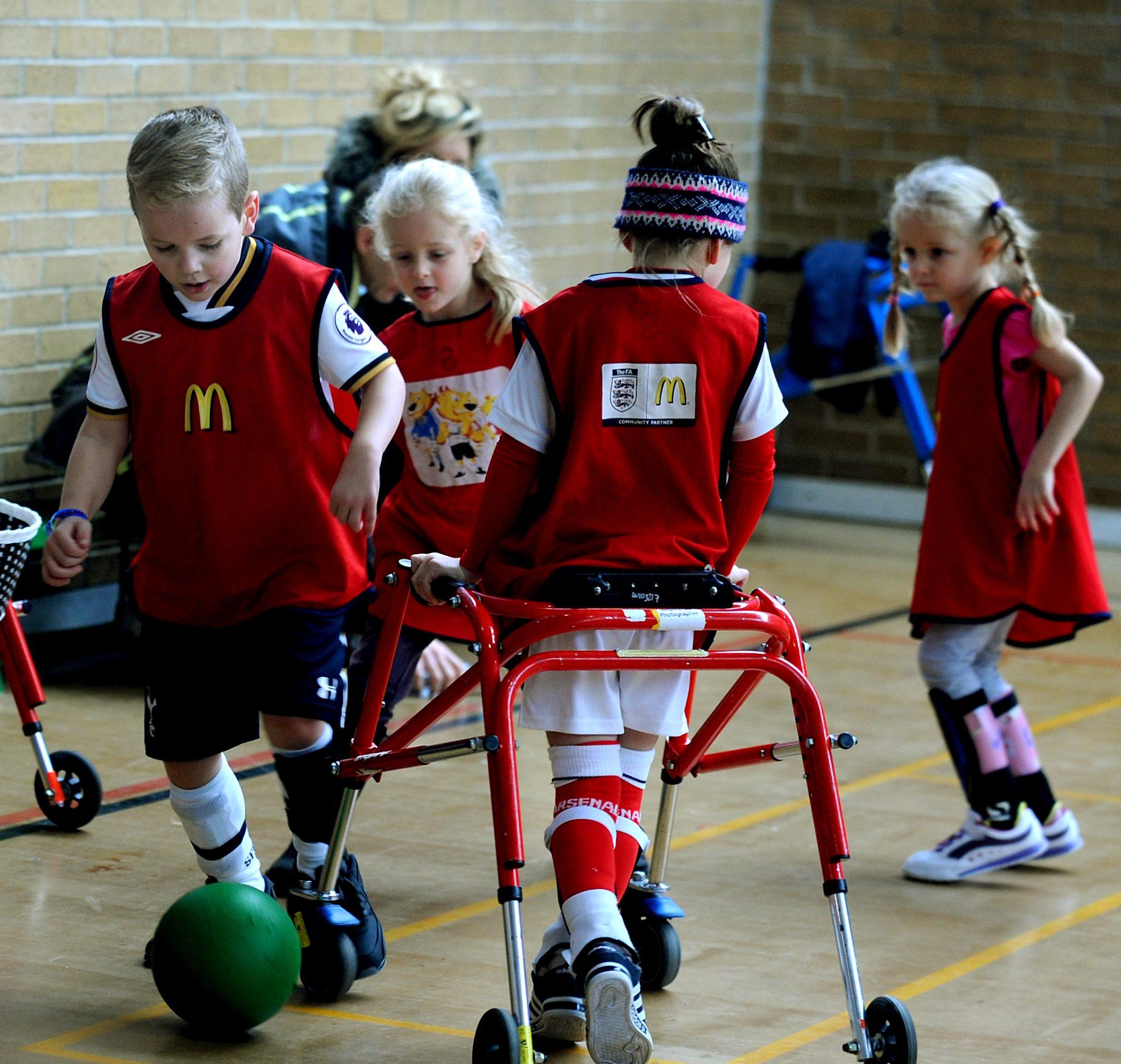 Disability Football Bury