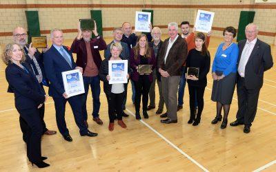Mendham, Shotley, Stradbroke and Kesgrave triumph in most active community awards