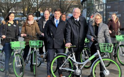 Dockless bike sharing scheme coming to Ipswich