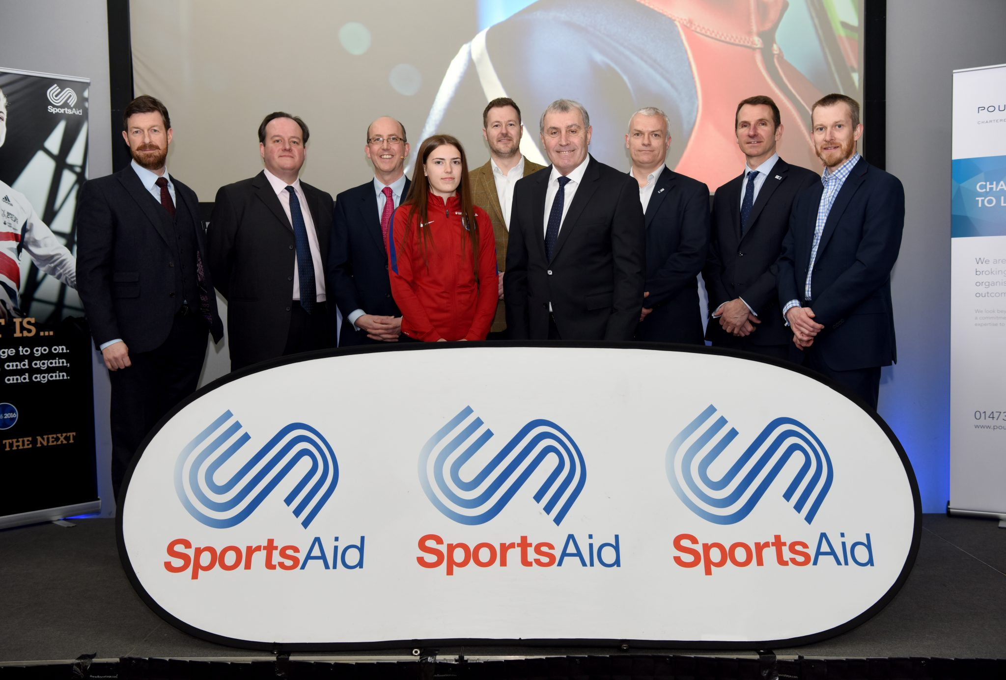 Football legend helps Ipswich businesses raise vital funding for local sporting prospects