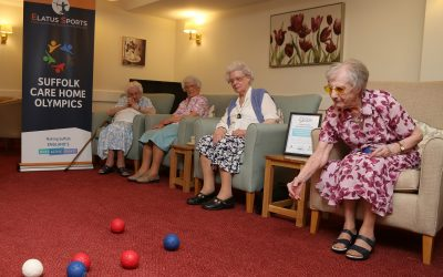 Entries open for the 2018 Suffolk Care Home Olympics