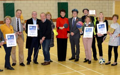 Suffolk's Most Active Community Award winners announced
