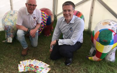 Elmer's new Learning Herd Guide unveiled at the Suffolk Show