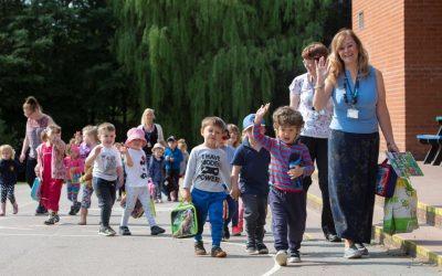 Little feet take big strides in Suffolk