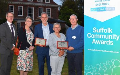 Suffolk's most active communities 2019 named