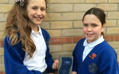 Suffolk primary school recognised for their efforts to increase active travel