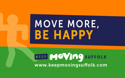 """Let's Keep Moving Suffolk"" – New resources available to support people keeping active during Covid-19 pandemic"