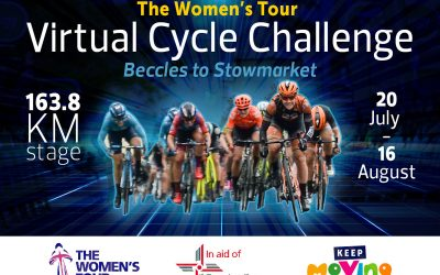 New Women's Tour virtual cycling challenge to support the East Anglian Air Ambulance