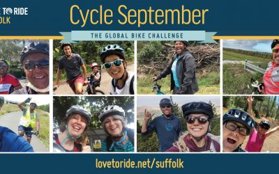 Suffolk County Council backs Love to Ride's Cycle September to help make cycling the New Normal